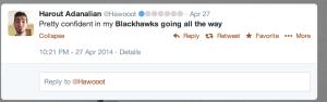 Blackhawks Go all the way